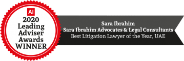 Best Litigation Lawyer of the Year UAE